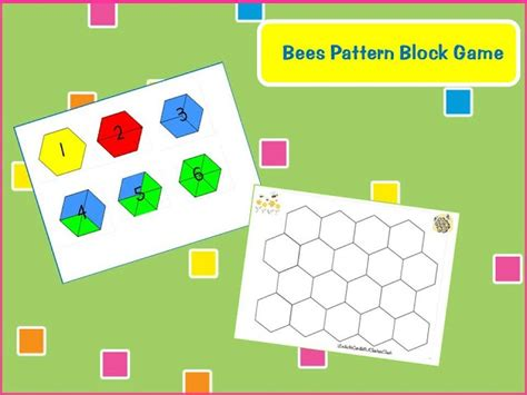 kindergarten pattern block games 462 best images about insects on pinterest bumble bees