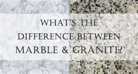 What Is The Difference Between Quartz And Granite Countertops by What S The Difference Between Marble And Granite Surrey