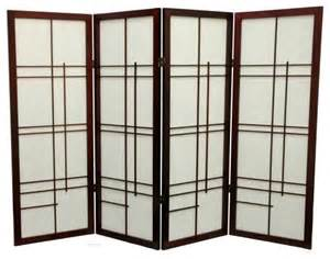 oriental furniture low eudes shoji screen room divider 48 inch asian screens and room