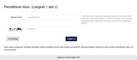 membuat npwp offline daftar npwp pribadi online cara daftar npwp online onlinepajak