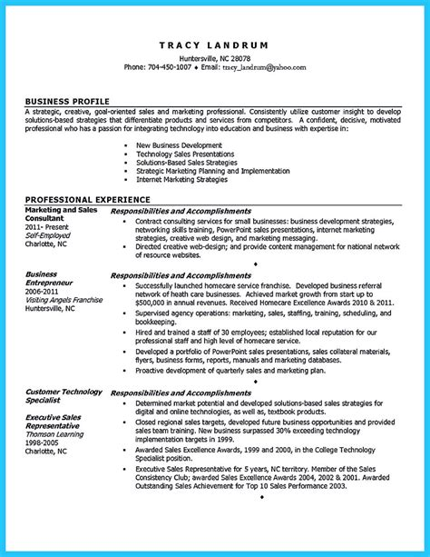 Resume Template Business by Best Words For The Best Business Development Resume And Best