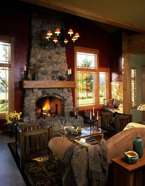mission style home decor craftsman style living room craftsman style homes