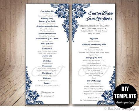 wedding programs template best 25 program template ideas on wedding