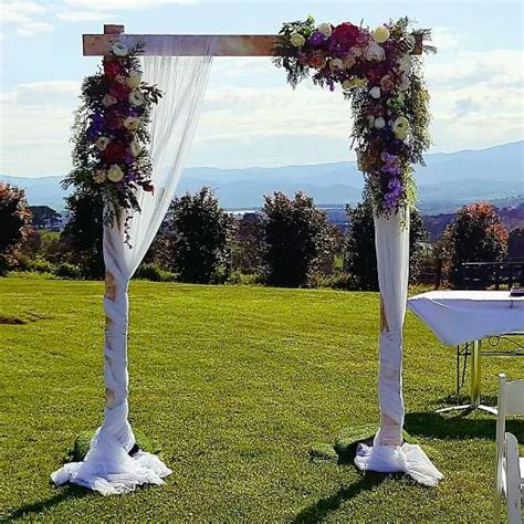 Wedding Arch Wooden by Wooden Wedding Arbour The Wedding Arch By Ceremonies I