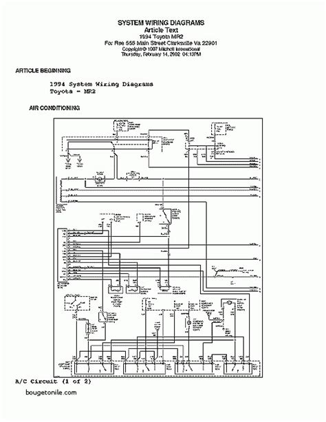 1994 toyota corolla wiring diagram wiring diagram manual
