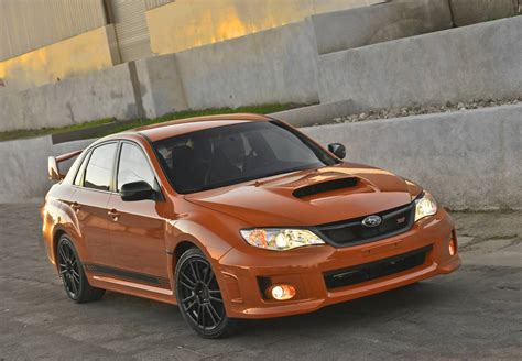 orange subaru 2013 subaru impreza wrx orange and black special edition