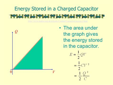 energy stored in capacitor is given by capacitors a capacitor is a device for storing charge and electrical potential energy ppt