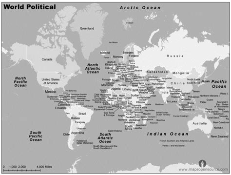 world map with cities black and white free world political map black and white political map