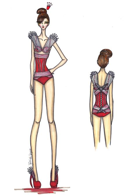 arva fashion illustration competition another triumph design entry this time from the