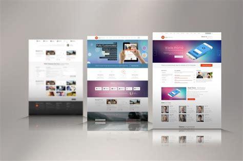 web design mock up sle web presentation mock ups heroturko download