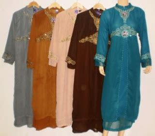 Gamis Pesta Ld 120 grosir baju muslim murah tanah abang gamis pesta