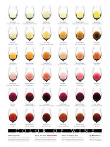 color of wine complete wine color chart wine folly