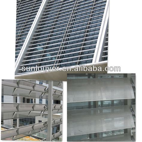 Shutter Awnings by Outdoor Aluminum Window Louver Awning As Shutter Louver