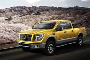 Nissan Diesal Nissan Debuts V8 Diesel Powered 2016 Titan Xd In Detroit
