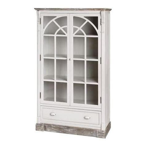 new england shabby chic display cabinet works well alongside our antique french furniture