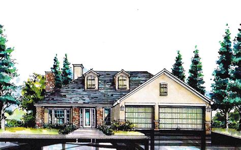 Sloping Hill House Plans 4 Bed Hill Country Home For A Sloping Lot 36445tx Architectural Designs House Plans