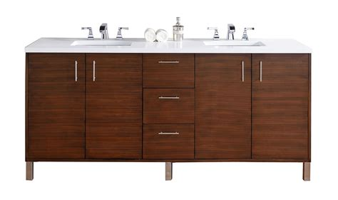 Countertop For Bathroom Vanity Abstron 72 Inch Walnut Finish Bathroom Vanity Countertops Options