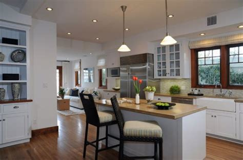 View in gallery a kitchen island can be both small and functional if