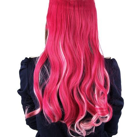 women hair extensions phoenix arizona charming women hair synthetic full head clip in long curly