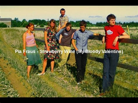 strawberry wine my bloody my bloody strawberry wine pia fraus cover