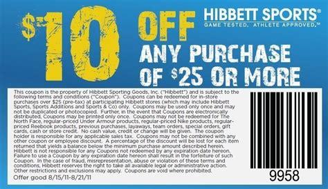 Hibbett Sports Printable Coupons