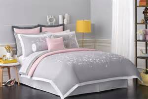 Grey And Pink Bedding Sets New Charming Bedding Collections From Kate Spade New York Frugal Novice