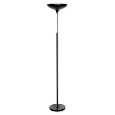 globe electric led floor l torchiere buy lighted globes from bed bath beyond