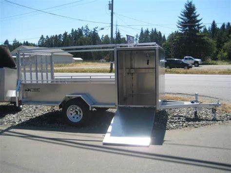 5 x 11 aluminum landscaping trailer 2 year warranty