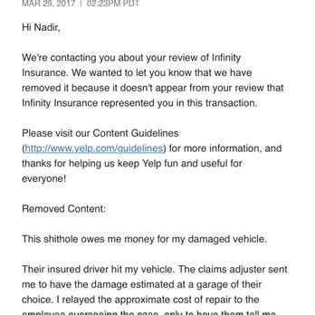 Infinity Auto Insurance Claims by Infinity Insurance 50 Reviews Insurance 13340 183rd