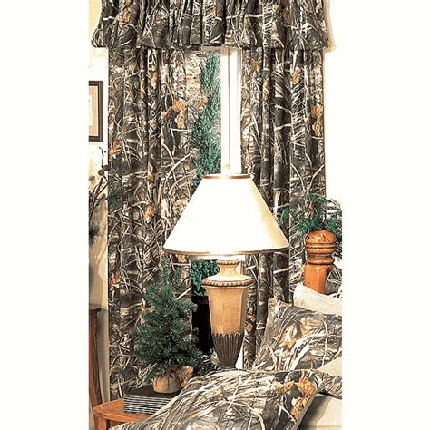 Camouflage Curtains Realtree Max 4 Camo Rod Pocket Drapes