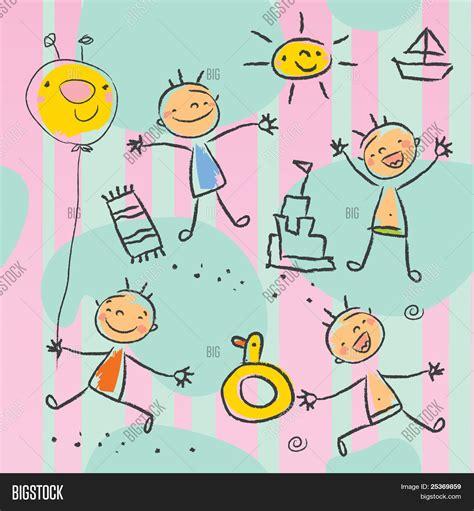 imagenes de niños jugando en el jardin de infantes bonitos crian 231 as brincando na praia papel de parede