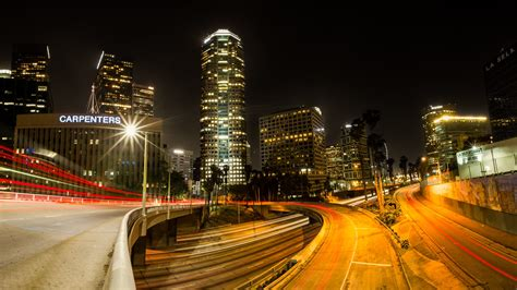 los angeles street lights los angeles lights street wallpapers 1920x1080 751993