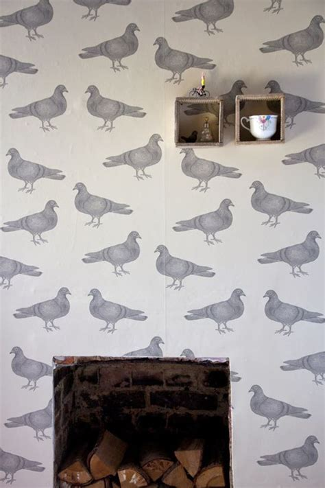 Grey Quirky Wallpaper   36 best patternspy s quirky fabric and wallpaper ideas