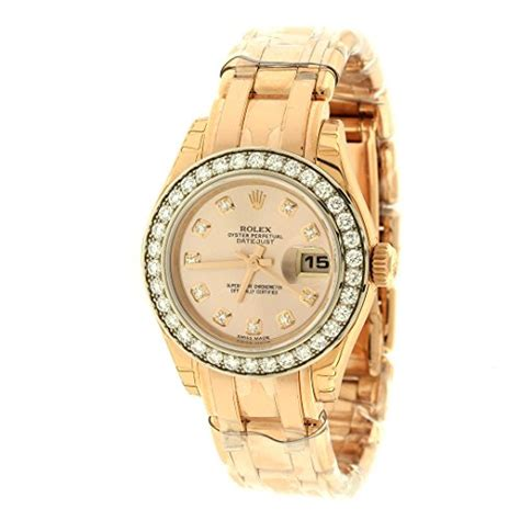 Rolex Datejust Automatic 1 rolex datejust chagne 18k pink gold automatic 179175crj www carrywatches