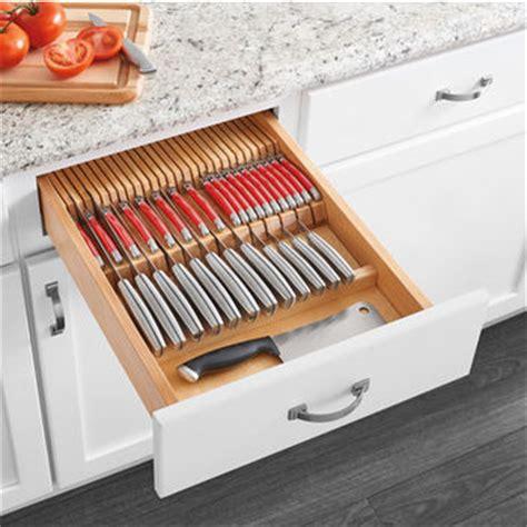 rev a shelf cutlery drawer for 24 quot cabinets w utensils 4wtud 24 sc 1 cabinetparts com rev a shelf cutlery flatware drawer inserts drawer