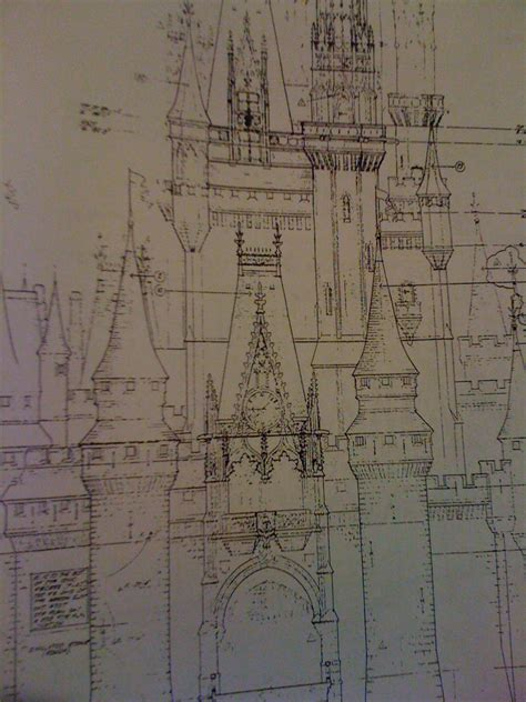 disney imagineering blueprints for cinderella walt disney world fantasyland blueprints