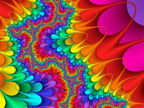 colorful designs and patterns rainbow meditation leia vieira