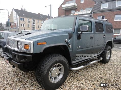 2005 hummer h2 engine specs 2005 hummer h2 luftf voll car photo and specs