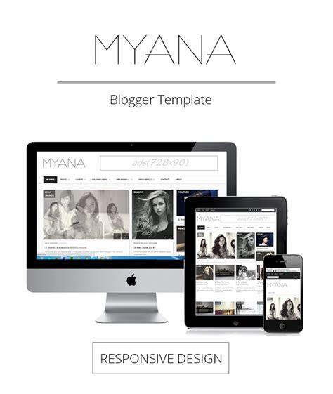 responsive layout maker templates myana blogger template blogger templates 2018