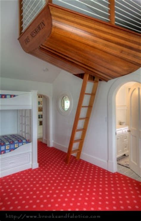 beds hanging from the ceiling all on deck with these boat beds design dazzle