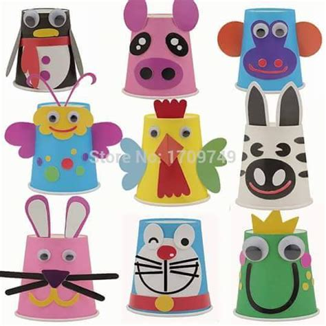 craft work with paper cups paper cup animal crafts 2 171 preschool and homeschool