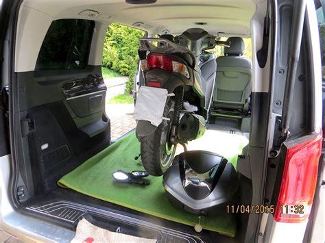 V Klasse Motorradtransport by Bildschirmfoto 2015 04 11 Um 12 56 21 V Klasse Kompakt