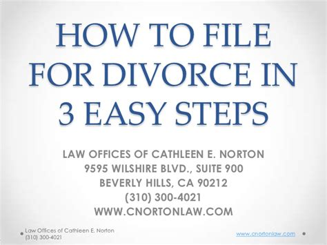 Files For Divorce by How To File For Divorce In 3 Easy Steps