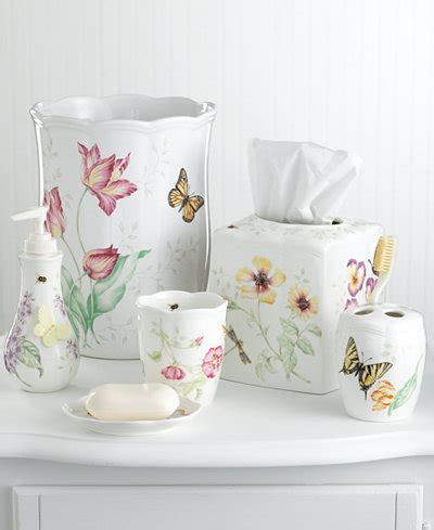 butterfly bathroom accessories lenox quot butterfly meadow quot bath accessories bathroom