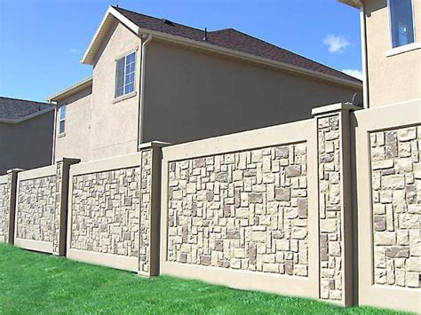 Low Cost Homes by Boundary Fence Boundary Walls Stonetree 174