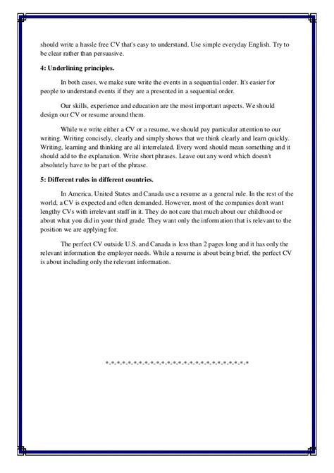 Resume Writing Assignment Assignment Resume