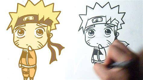 imagenes asombrosas de naruto c 243 mo dibujar a naruto kawaii youtube