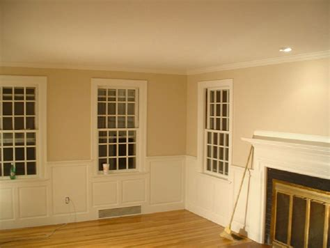 wainscoting in living room dining room wainscoting craftsman living room new