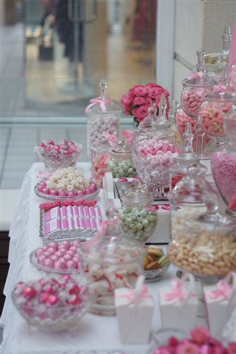 southern blue celebrations pink candy dessert tables