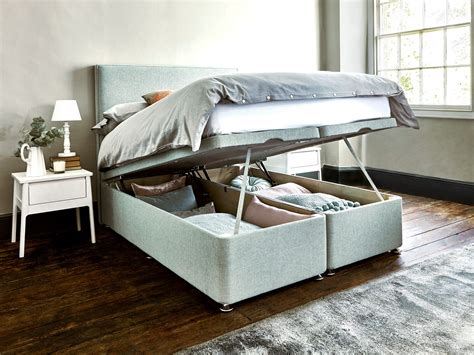 ottoman storage bed base the avebury storage bed with the oxenwood ottoman bed base